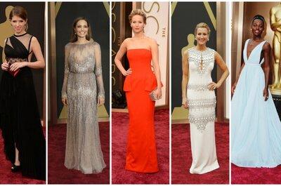 Inspiracje z czerwonego dywanu - suknie gwiazd na Oscarach 2014