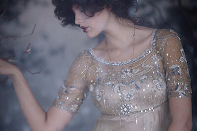Historia del traje de novia: Los locos años 20