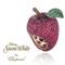 Prendedor en forma de manzana inspirado en Blanca Nieves
