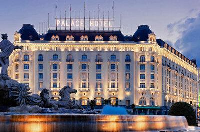 El día de la boda sorpende a los invitados con un menú 5 estrellas en The Westin Palace Madrid