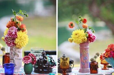 Nuevas tendencias 2013 en decoración para una boda en casa campestre