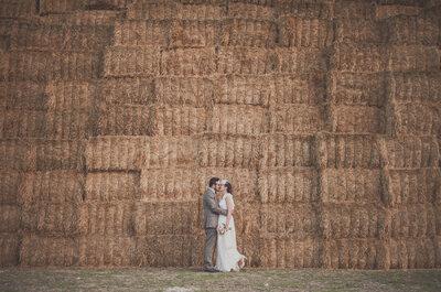 La Mancha como testigo de amor: la boda de Sergi y Mara