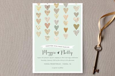 Las 30 invitaciones de boda con estilo vintage más lindas: Aliadas perfectos para incorporar estilo y elegancia