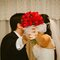 Diferentes ideias de buquês de noiva com flores vermelhas. Foto: Alfamas