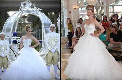 Vestidos de novia de Alfred Angelo inspirados en Cenicienta