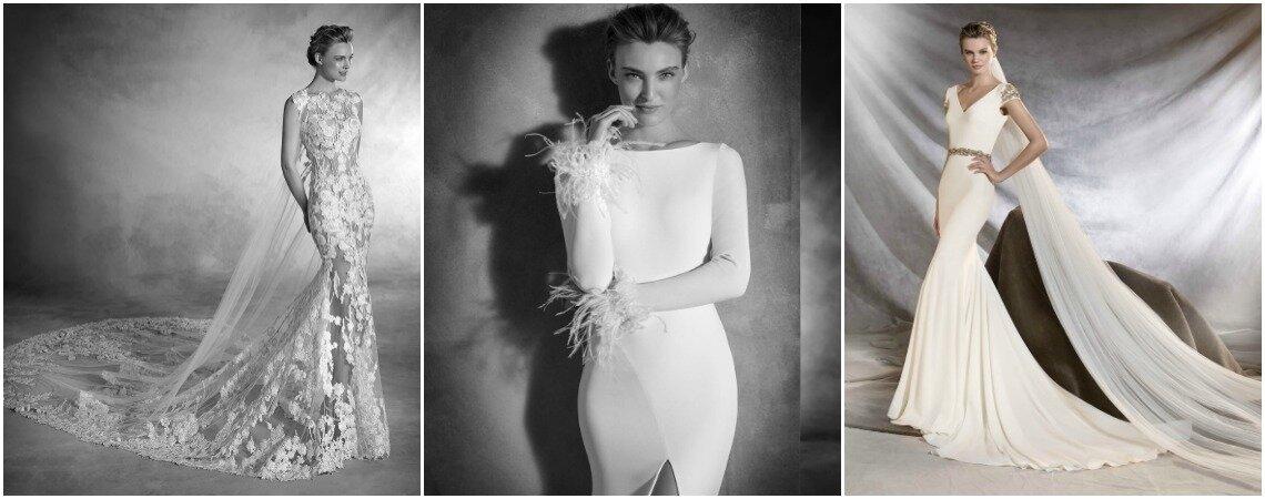 Entdecken Sie Pronovias Brautkleider 2017: 5 Must-have Trends, die Sie rundum begeistern werden
