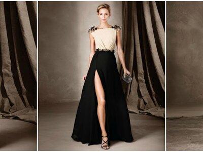 Lange Abendkleider für Hochzeitsgäste in Schwarz 2017! Maximale Eleganz für jeden Stil