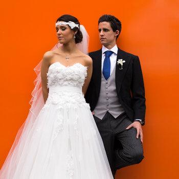 Flores, estilo y un toque urbano: Así fue la boda de Laura y Jero en México, DF