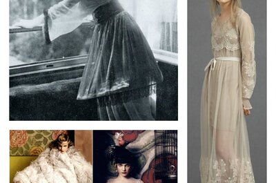 Robes de mariée du 20ème siècle : retour sur les coupes et les matières de ce vêtement iconique