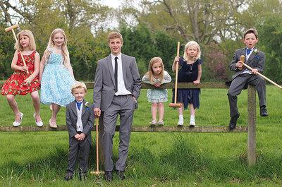 Suggestions pour distraires les enfants lors d'un mariage