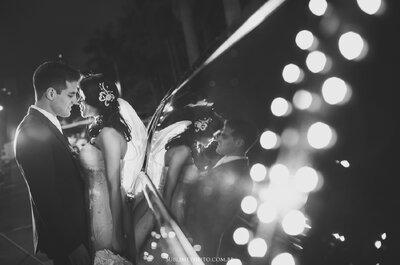 Casamento de Natalia e Tiago: norte e sul do país unidos em festa romântica e divertida