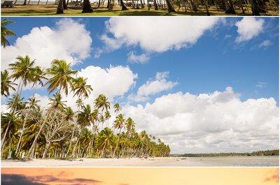 Destination Wedding em Pernambuco - Brasil: Praia dos Carneiros lugar paradisíaco para se casar