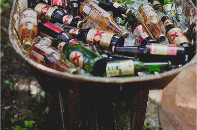 Baignoire, barque, fontaine : des idées originales et décoratives pour rafraîchir vos boissons