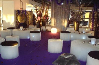 Le lounge, une idée déco conviviale pour votre réception de mariage