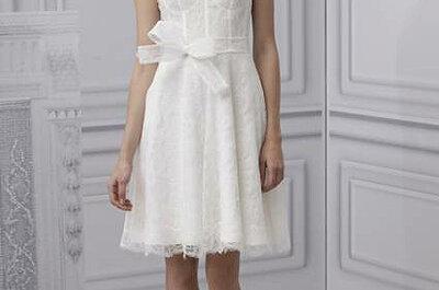 Suknie ślubne z zabudowanym dekoltem trendem roku 2013