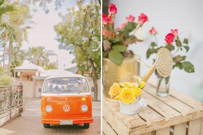 Un real wedding DIY con ispirazione indie