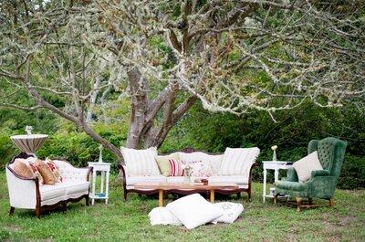Los acentos de estilo que no pueden faltar: Mobiliario vintage para tu boda