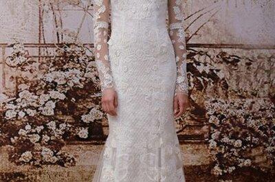 Vestidos de novia ajustados de las tendencias 2014