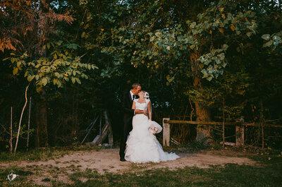 Almas gemelas en El Bosque: la boda de María Isabel y José