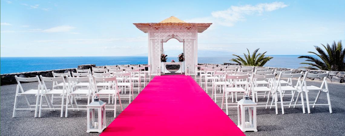 Un espacio ideal para la boda que siempre has soñado