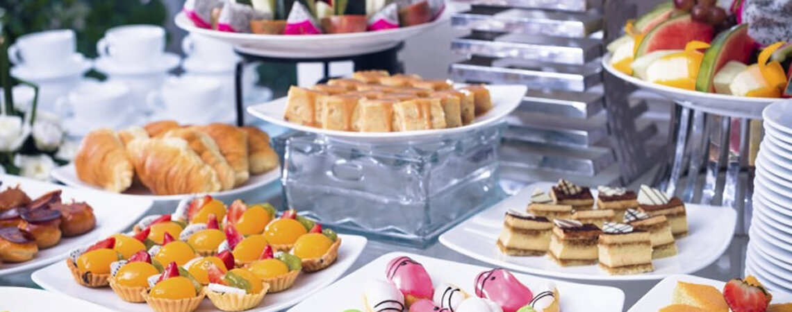 Let the wedding dreams continue on your palette and plate with catering by Pepe Catering