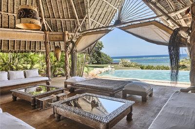 Los mejores hoteles para tu luna de miel en Kenia