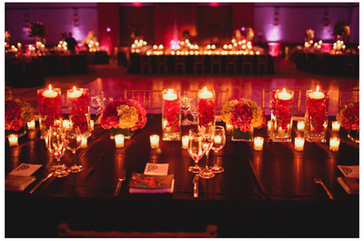Tendencia 2014: Una boda decorada con velas, ¡¿por qué no?!