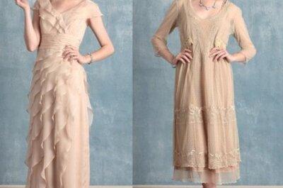 Vestidos de novia con inspiración vintage