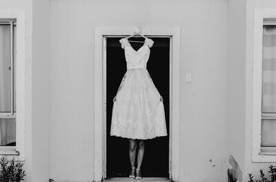 Como escolher o vestido de noiva perfeito se não sou modelo