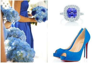 Algo azul para tu boda: Una tradición mágica para el gran día de tu vida