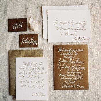 Découvrez les détails d'un beau mariage vintage