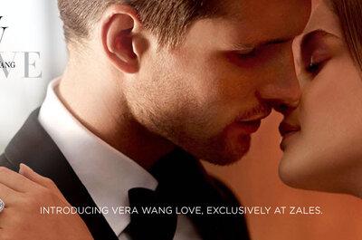 Anillos de compromiso de lujo de la colección Vera Wang Love