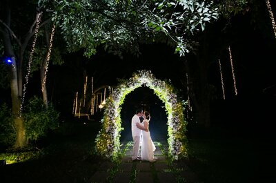 ¿Cómo organizar una boda de noche? ¡Sigue estos consejos y haz de tu celebración un éxito!