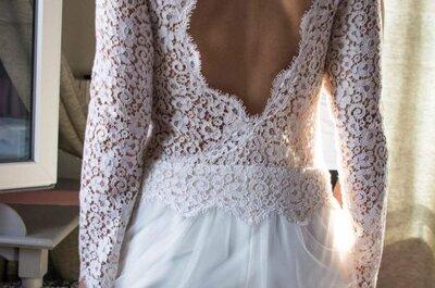 6 types de manches longues pour votre robe de mariée : le froid ne vous gâchera pas la fête !