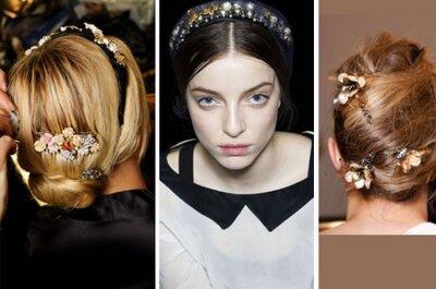 Für trendige Bräute - Brautfrisuren 2013