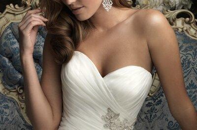Tendencias en Vestidos de novia 2013, Allure Bridals