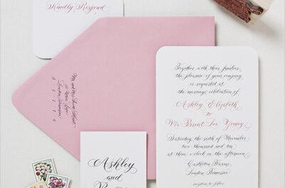 #MartesDeBodas: Los tips para tus invitaciones de boda