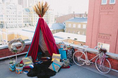 Love on the roof! Романтическая фотоссесия Никита&Рита