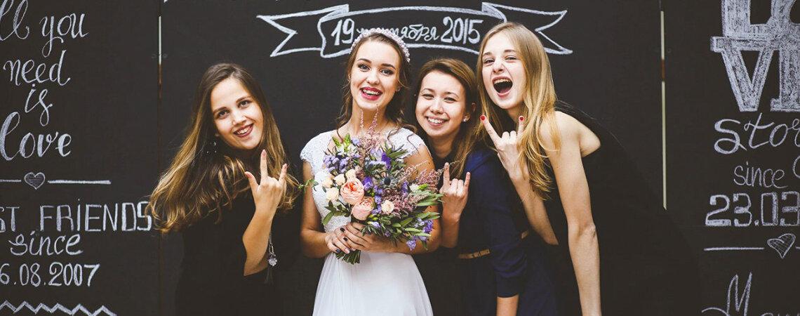 Фотозона на свадьбу: несколько интересных идей!