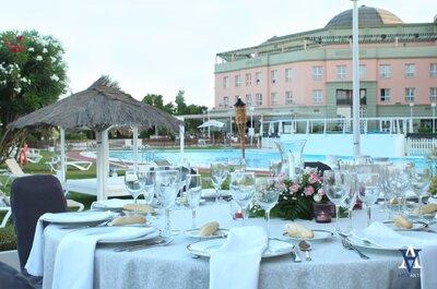 Celebra una boda única y especial en un hotel sevillano
