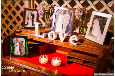 Amor na decoração: Plaquinhas de madeira
