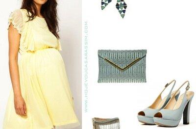 Moda: convidadas grávidas... no post do dia