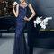 Hochzeitsgastkleid aus der Festmodenkollektion 2015 von Rosa Clará (8T223)