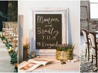 Decoración de boda estilo industrial 2017. ¡Las ideas más TOP!