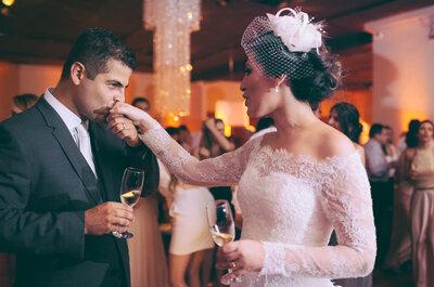 Mirela & Alexandre: casamento clássico SUPER romântico em São Paulo