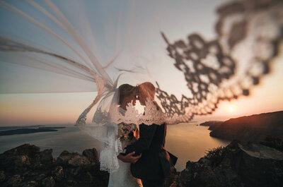 Загадка Санторини: романтичная свадьба Ирины и Вадима