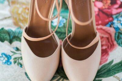 Najnowsze trendy 2015 dla Panny Młodej! Jakie buty założyć na ślub?