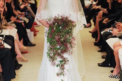 Carolina Herrera primavera 2016: Vestidos de novia envueltos en feminidad y elegancia plena
