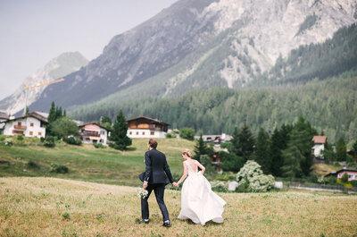 Die perfekte Location: Das Hotel Guarda Val für Ihre Hochzeitsfeier in den Schweizer Alpen!