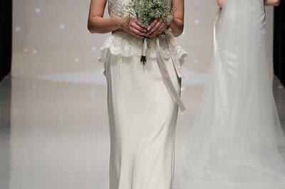 Suknia ślubna z baskinką – przegląd